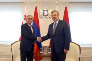 Face-to-face meeting with the President of Armenia