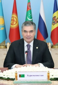 President of Turkmenistan supports the proposal on extension of the term of office of Sergey Lebedev as Chairman of the CIS Executive Committee