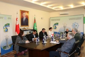 Briefing dedicated to the 25th Anniversary of Permanent Neutrality of Turkmenistan was held in Tbilisi