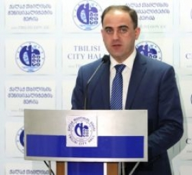Tbilisi City Mayor Davit Narmania apologizes