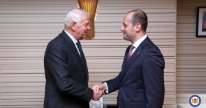 The Georgian Foreign Minister has met his Romanian counterpart Teodor Meleşcanu