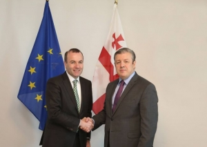 Meeting with Manfred Weber