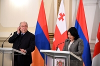 Statement of the President at the Joint Press Points with President Armen Sarkissian of Armenia