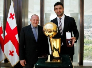 President of Georgia Awarded Zaza Pachulia the Order of Honor