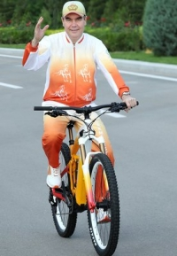 Turkmenistan widely celebrates the World Bicycle Day