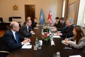 Speaker met with the UN Under-Secretary-General for Political Affairs