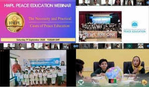 HWPL Hosts Peace Education Webinar by Connecting South Asian Countries during the COVID-19 Crisis
