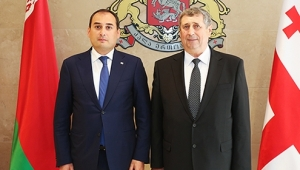 Dimitri Kumsishvili met with the Vice-Prime Minister of Belarus