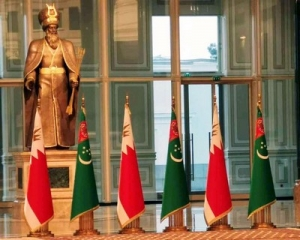 President of Turkmenistan and King of Bahrain discuss cooperation on the international arena