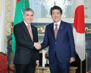 President of Turkmenistan and Prime Minister of Japan specify priorities of the interstate partnership