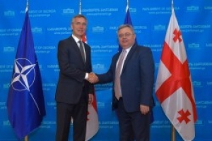 The meeting of the Speaker with NATO Secretary General