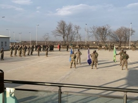 Opening Ceremony of the Georgia Defense Readiness Program (GDRP) at Vaziani Military Base