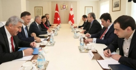 Meeting of the Prime Minister with the Minister of Transport, Maritime and Communication of Turkey