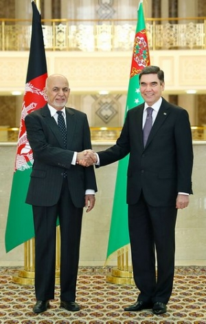 Talks between the President of Turkmenistan and Afghanistan