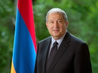 Armenian President Armen Sarkissian to visit Georgia on April 15