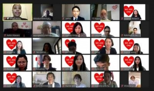 An Online Prayer Meeting for Religious People Around the World to End COVID-19