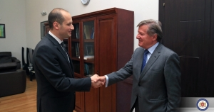 Janos Herman congratulated Georgia on conducting transparent elections