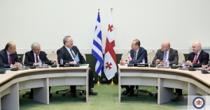 The Georgian and Greek Foreign Ministers have discussed the prospects for co-operation between the two countries