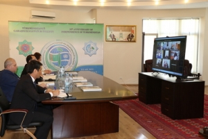 Online conference dedicated to the 30th Anniversary of Independence of Turkmenistan and the declaration of 2021 as International Year of Peace and Trust was held in Tbilisi