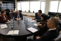 Ambassador Li Yan Meets with Georgian Deputy Prime Minister and Minister of Regional Development and Infrastructure