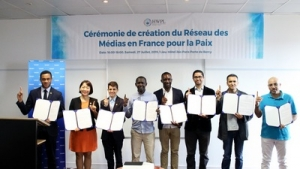 """France Peace Media Network"" establishes as an important leverage for global peace"