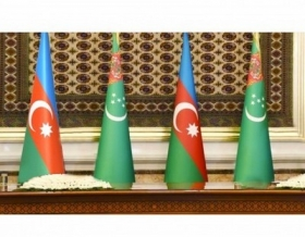 Presidents of Turkmenistan and Azerbaijan have a telephone conversation