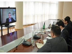 Aspects of cooperation reviewed at video conference session with International Migration Organization