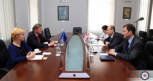 Georgian Foreign Minister has met the Head of the EU Delegation to Georgia