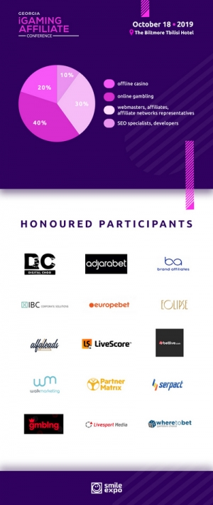 Who Will Attend Georgia iGaming Affiliate Conference? Honorable Participants of the Event