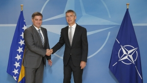 NATO Secretary General commends Bosnia and Herzegovina for its contributions to NATO operations
