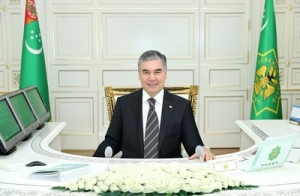 Telephone conversation between President of Turkmenistan and UN Secretary General