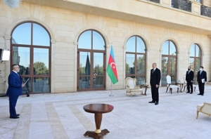 "President Ilham Aliyev: One of the issues negatively affecting Azerbaijani-Greek cooperation is related to ""DESFA"""