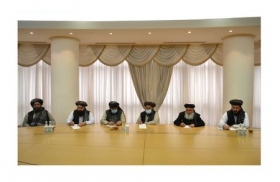 The meeting with the delegation of Political Office of Taliban movement was held in the MFA of Turkmenistan