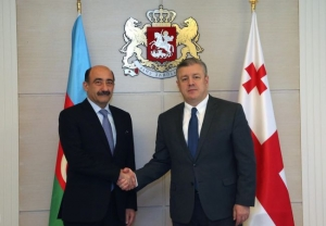 Prime Minister of Georgia Meets Minister of culture of Azerbaijan