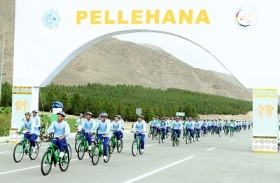 Turkmenistan marks the World Bicycle Day