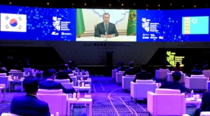The President of Turkmenistan made a video statement at the International Forum for Northern Economic Cooperation
