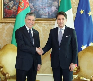 The President of Turkmenistan pays official visit to the Republic of Italy