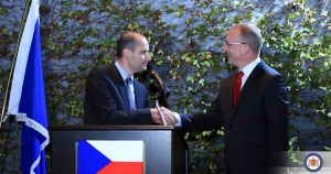 Mikheil Janelidze has congratulated the Czech people on Czech Statehood Day