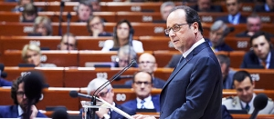 François Hollande: 'We need the Council of Europe more than ever'