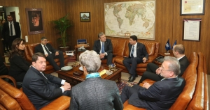Meeting with Secretary-General of the United Nations' World Tourism Organization Taleb Rifai