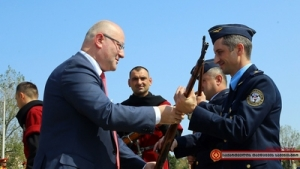 Georgian Aviation Day marked at Alekseevka Military Airfield