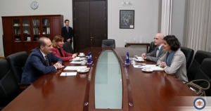 Mikheil Janelidze has met with the newly-appointed Head of the NATO Liaison Office