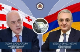 Georgian and Armenian Foreign Ministers have once again exchanged views on COVID-19 pandemic situation