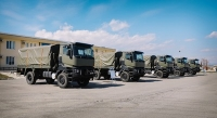 NATO side Granted Vehicles to the Georgian Defense Forces