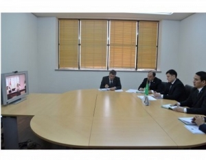 Online meeting with the Head of Abu Dhabi Development Fund is held