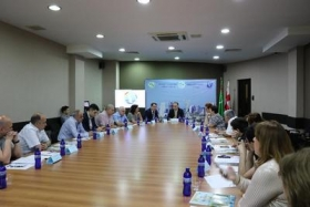 Embassy of Turkmenistan in Georgia held  a Round Table dedicated to the First Caspian Economic Forum