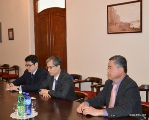 Delegation of the Embassy of Korea in BSU