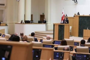 New Cabinet Led by Giorgi Gakharia Wins a Vote of Confidence in Parliament
