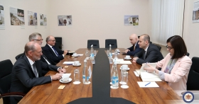 Georgian Foreign Minister Mikheil Janelidze has met the Co-chairs of the Geneva International Discussions