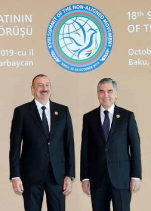 President of Turkmenistan and President of Azerbaijan discuss the important issues of cooperation